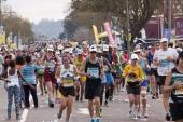 Large Group of Runners at Comrades Ultra Marathon — Stockfoto