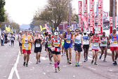 Male and Female Runners at Comrades Ultra Marathon — Stock Photo