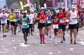 Male and Female Runners At Comrades Ultra Marathon — Photo