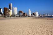 Golden Mile Beach Front in Durban South Africa — Stock fotografie