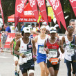 Male and Female Participants Running in the 2014 Comrades Marath — Stock Photo #62461659