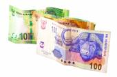 Hundred Twenty and Two Tens South African Bank Notes — Stock Photo
