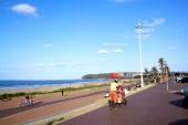 Ice Cream Seller on Promenade at Durban Beach Front — Stock Photo