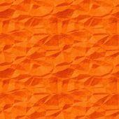 Old crumpled orange paper background — Zdjęcie stockowe