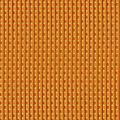 Yellow golden bar with cut square holes as endless texture. High resolution of popular background. — Foto de Stock