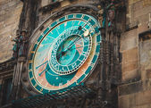 Prague Astronomical Clock. Landmark of Czeh republic. — Stock Photo
