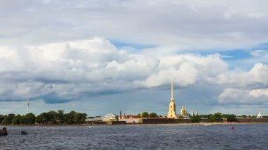 Saint-Petersburg, Peter and Paul fortress — Stock Video