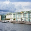 View Winter Palace in Saint Petersburg from Neva river. Russia — Stock Photo #54191805