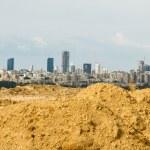 Tel Aviv and Ramat Gan. — Stock Photo #59204915