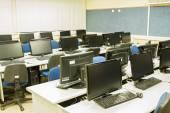 Classroom computers — Stock Photo