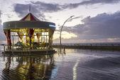 Retro carousel . — 图库照片
