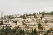 Panorama of West Jerusalem Yemin Moshe neighborhood . — Stock Photo