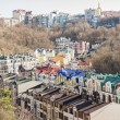 Vozdvizhenka elite district in Kiev, Ukraine — Stock Photo #69186881