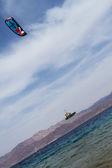 Kitesurfing . — Stock fotografie
