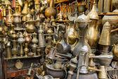 Souvenirs shop in Arab quarter . — Stock Photo