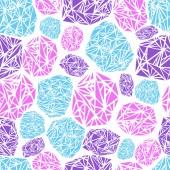 Seamless pattern diamond — Stock Vector