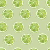 Lime pattern — Stock Vector