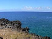 Påskön kusten — Stockfoto