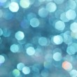 Blue turquoise glitter abstract background Defocused abstract blue christmas winter background Soft lights — Stock Photo #62426137
