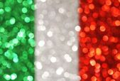 Green, silver, red vertical stripes abstract background Soft lights — Stock Photo