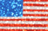 USA flag background - sparkly glittery background — Stock Photo