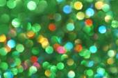 Dark abstract green, red, yellow, turquoise glitter background christmas tree-abstract background — Stock Photo