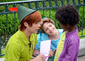 Peter Pan and Wendy — Stock Photo