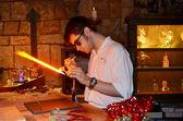 Disney glass maker — Stock Photo