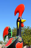 Algarve rooster tourism symbol — Stock Photo