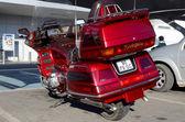 Red Honda Goldwing — 图库照片