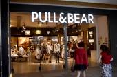 Pull & Bear clothing store — Stock Photo
