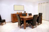 Moderna sala de jantar — Foto Stock
