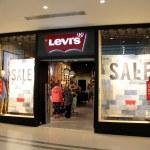 Постер, плакат: Levis Store England