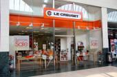Le Creuset shop — Stock Photo