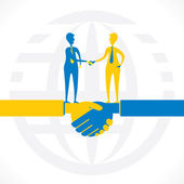 Partnership or business relation — Stock Vector