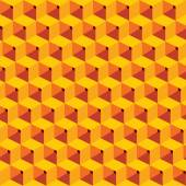 Abstract cube design pattern — Wektor stockowy