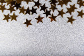 Festive colorful shiny background with stars — Stock Photo