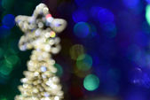New year colorful abstract composition of lights in the defocusing — Stock Photo