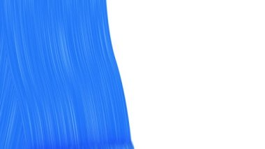 Roller Painting Blue color. Useful for Transitions. Loop-able. Alpha Channel. HD 1080. — Stock Video