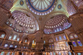 Inside the Blue Mosque — Stock Photo