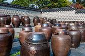 Kimchi Jars — Stock Photo