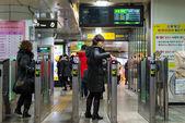 Gangnam Station — Stock Photo