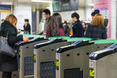 Gangnam Station — Stock Photo