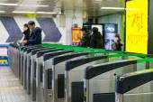 Estação Gangnamto Gangnam σταθμό — Fotografia Stock