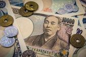 японская иена — Стоковое фото