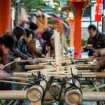 Ablution at Fushimi Inari — Stock Photo #63989793