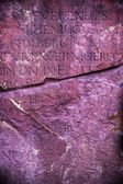 Marmur starożytne alfabety tło — Zdjęcie stockowe