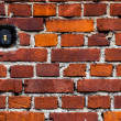 Brick Wall and Electric Switch — Stock Photo #57096617