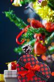 Decoratie van Kerstmis-Nieuwjaar — Stockfoto