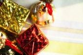 Christmas New Year Decoration — Stock Photo